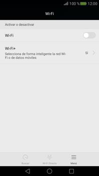 Configura el WiFi - Huawei Mate S - Passo 4
