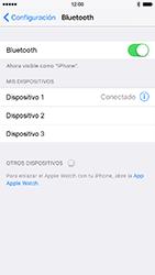 Conecta con otro dispositivo Bluetooth - Apple iPhone 7 - Passo 6