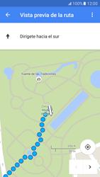 Uso de la navegación GPS - Samsung Galaxy S7 - G930 - Passo 18