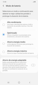 Modo de ahorro de batería - Samsung Galaxy S20 - Passo 6