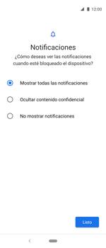 Desbloqueo del equipo por medio del patrón - Motorola One Vision (Single SIM) - Passo 11