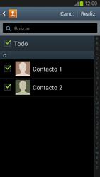¿Tu equipo puede copiar contactos a la SIM card? - Samsung Galaxy S 3  GT - I9300 - Passo 8