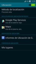 Uso de la navegación GPS - Samsung Galaxy Alpha - G850 - Passo 20