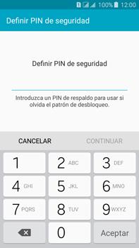 Desbloqueo del equipo por medio del patrón - Samsung Galaxy J7 - J700 - Passo 11