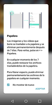 Transferir fotos vía Bluetooth - LG Q6 - Passo 3