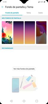 Cambiar configuraciones de pantalla - LG K50s - Passo 5