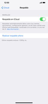 Realiza una copia de seguridad con tu cuenta - Apple iPhone XR - Passo 14