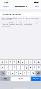 Configura el hotspot móvil - Apple iPhone 11 - Passo 5