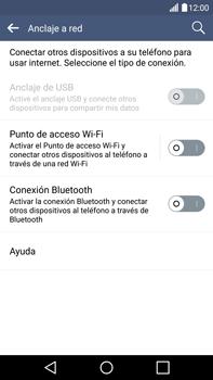 Configura el hotspot móvil - LG V10 - Passo 5