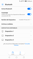 Conecta con otro dispositivo Bluetooth - Huawei P9 Lite 2017 - Passo 5
