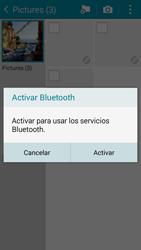 Transferir fotos vía Bluetooth - Samsung Galaxy A3 - A300M - Passo 13