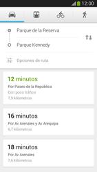 Uso de la navegación GPS - Samsung Galaxy Zoom S4 - C105 - Passo 9