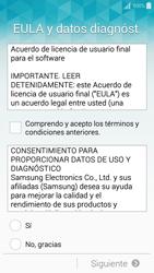 Activa el equipo - Samsung Galaxy A5 - A500M - Passo 6