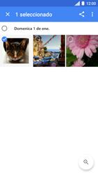 Transferir fotos vía Bluetooth - Motorola Moto C - Passo 7