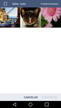 Transferir fotos vía Bluetooth - LG G4 - Passo 6
