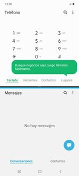 Cómo ver dos aplicaciones a la vez en pantalla - Samsung Galaxy S10 Lite - Passo 7
