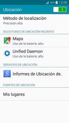 Uso de la navegación GPS - Samsung Galaxy A5 - A500M - Passo 21