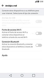 Configura el hotspot móvil - LG G5 SE - Passo 4