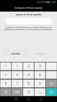 Desbloqueo del equipo por medio del patrón - Huawei Mate S - Passo 10