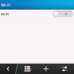 Configura el WiFi - BlackBerry Q10 SQN100 – 1 - Passo 6