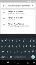 Uso de la navegación GPS - Motorola Moto G5 - Passo 9