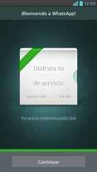 Configuración de Whatsapp - LG Optimus G Pro Lite - Passo 9
