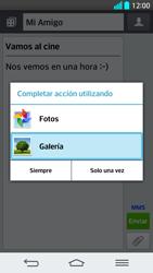 Envía fotos, videos y audio por mensaje de texto - LG G2 - Passo 15