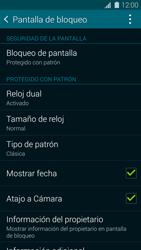 Desbloqueo del equipo por medio del patrón - Samsung Galaxy S5 - G900F - Passo 15