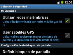 Uso de la navegación GPS - Samsung Galaxy Y Pro GT - B5510 - Passo 7