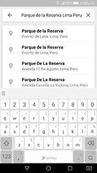 Uso de la navegación GPS - Huawei P10 - Passo 9