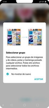 Transferir fotos vía Bluetooth - LG G7 ThinQ - Passo 6