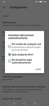 Cambiar configuración de actualizaciones de aplicaciones - Huawei P30 Pro - Passo 7