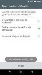 Desbloqueo del equipo por medio del patrón - HTC One A9 - Passo 11