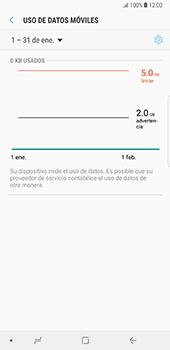 Desactivación límite de datos móviles - Samsung Galaxy Note 8 - Passo 7