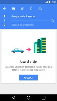 Uso de la navegación GPS - LG V10 - Passo 13