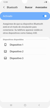 Conecta con otro dispositivo Bluetooth - Samsung Galaxy A50 - Passo 7