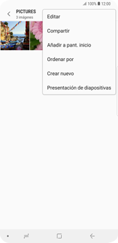 Transferir fotos vía Bluetooth - Samsung Galaxy S9 Plus - Passo 9