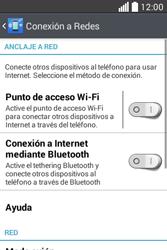 Configura el hotspot móvil - LG L40 - Passo 5