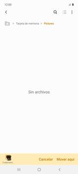 Transferir datos desde tu dispositivo a la tarjeta SD - Samsung Galaxy A51 - Passo 13