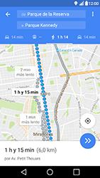Uso de la navegación GPS - LG X Power - Passo 17