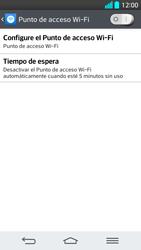 Configura el hotspot móvil - LG G2 - Passo 6