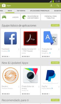 Instala las aplicaciones - Samsung Galaxy Tab 3 7.0 - Passo 5