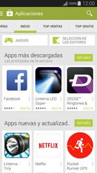 Instala las aplicaciones - Samsung Galaxy Alpha - G850 - Passo 5