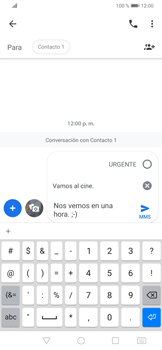 Envía fotos, videos y audio por mensaje de texto - Huawei P30 - Passo 9