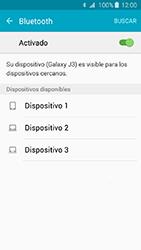 Conecta con otro dispositivo Bluetooth - Samsung Galaxy J3 - J320 - Passo 6