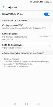 Configura el hotspot móvil - Huawei Mate 10 Lite - Passo 10