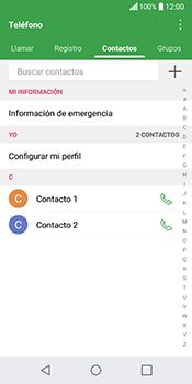 ¿Tu equipo puede copiar contactos a la SIM card? - LG Q6 - Passo 3