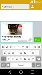 Envía fotos, videos y audio por mensaje de texto - LG C50 - Passo 17