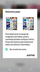 Transferir fotos vía Bluetooth - LG X Cam - Passo 5