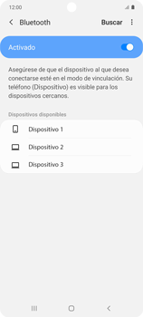 Conecta con otro dispositivo Bluetooth - Samsung Galaxy S10 Lite - Passo 7